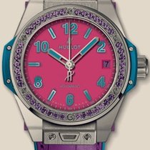 Hublot Big Bang Pop Art Steel Purple One Click