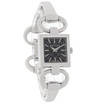 Gucci 118 Tornabuoni Ladies Black Dial Bracelet Dress Watch...