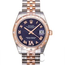 Rolex Datejust 31 Purple Steel/18k Rose Gold Dia 31mm - 178341