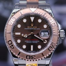Rolex Oyster Perpetual Yacht-master Half-rose Gold Ref 116621...
