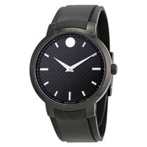 Movado Gravity Black Carbon Fiber Men's Watch