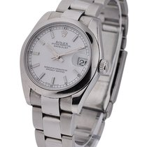 Rolex Used 178240_used_white_stick Mid Size DATEJUST with...