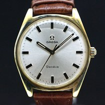 Omega Handaufzug Geneve White Dial cal.601 anno 1970