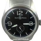 Bell & Ross BR 123 Original Black NEU incl MWST mit  B+P