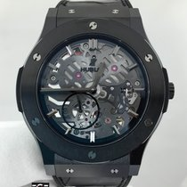 Hublot Classic Fusion Extra Thin Skeleton All Black 45mm