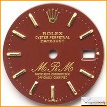 """Rolex Dial Date-Just Signature """"MRM"""" Ref 69278 Rare Stock..."""