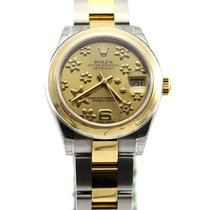 Rolex Oyster Perpetual Mid size 31mm datejust yellow gold NEW