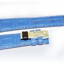 Audemars Piguet Kroko Uhrenarmband blau 20/16 mm