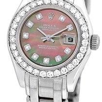 """롤렉스 (Rolex) Factory Diamond """"Masterpiece/Pearlmaster""""."""