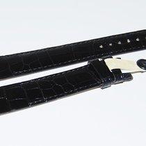 Chopard CROCO Lederband, schwarz  18/16 mm