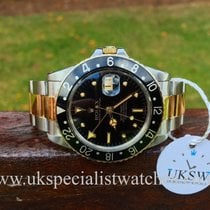 Rolex GMT Master Gilt Nipple Dial - 16753 - Steel & Gold-...
