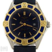 Breitling Uhr Lady J Edelstahl/Gold Damenuhr D52065