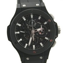 Hublot BIG BANG Aero Bang Black Magic CHRONOGRAPH Keramik...