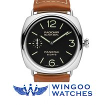 Panerai RADIOMIR BLACK SEAL 8 DAYS ACCIAIO - 45MM Ref. PAM00609