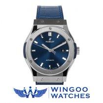 Hublot - Classic Fusion 42 Mm Titanium Blue Ref. 542.NX.7170.LR