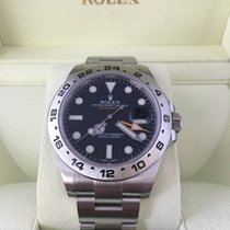 Rolex Explorer II Stainless Steel Black Dial 216570