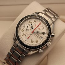 Omega Speedmaster automatic MARK 40 white racing dial box papers