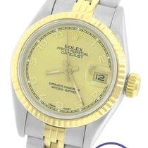 Rolex DateJust 26mm 69173 18K Two-Tone Gold Arabic Jubilee Watch