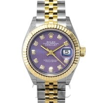 Rolex Lady-Datejust 28 Lavender Steel/18k Yellow Gold G 28mm -...