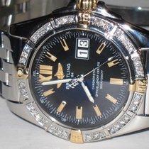 Breitling Chronomat Cockpit 18K Gold Diamonds
