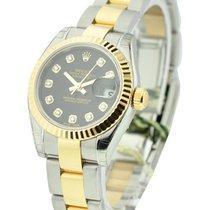 Rolex Unworn 179173 Ladys 2-Tone SS/YG Datejust with Oyster...