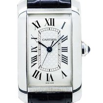 Cartier W2605596 Tank Americaine XL in White Gold - Limited...