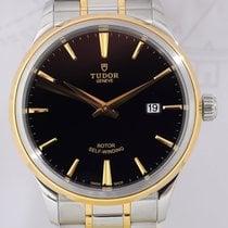 Τούντορ (Tudor) Tudor Style Date Stahl/Gold black dial...