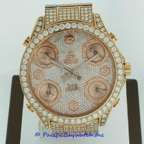 Jacob & Co. . 5 Time Zone All Diamond Watch Pre-owned