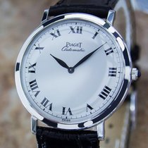 Piaget 18k Solid White Gold Automatic Swiss Made 32mm Dress...