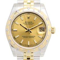 勞力士 (Rolex) Lady Datejust 18 K Yellow Gold Gold Automatic...