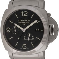 Panerai : Luminor 1950 3 Days GMT :  PAM 347 :  Stainless...