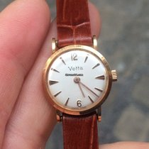 Wyler Vetta Solo Tempo Manual Manuale gold oro 24 mm 18kt Gold...