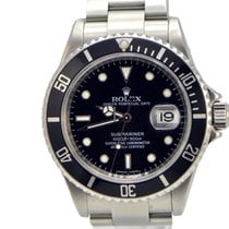 Rolex Submariner  Stainless Steel  Engraved V Series