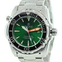 Deep Blue Depthmaster 3000 Watch Auto 49mm Date 28800 Bph...
