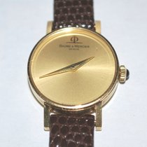 Baume & Mercier 18k Solid Gold 17 Jewel Ladies Watch 36636