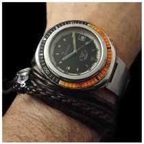 Squale 100 Atmos Saphir 2001 with rare steel band