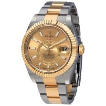 Rolex Oyster Perpetual Sky-Dweller Champagne Dial Automatic...