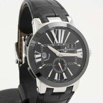 Ulysse Nardin Executive Dual Time GMT black 243-00/42
