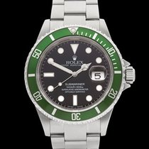 Rolex Submariner Fat 4 Stainless Steel Gents 16610LV