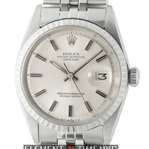Rolex Datejust Stainless Steel 36mm Silver Pie Pan Dial Circa...