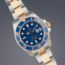 Rolex Submariner Date 'ceramic' stainless steel and...