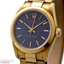 Rolex Oyster Perpetual Ref-67488 18k Yellow Gold Papers Bj-1994