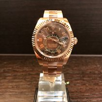 Rolex Sky-Dweller Rosegold Chocolate Dial 326935