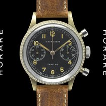 Auricoste Type 20 Fly-Back Chronograph French Military Markings