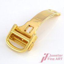 Cartier Faltschließe 750/18K Gelbgold für 14 mm Armbandbreite...