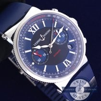 Ulysse Nardin Marine Chronograph With Box & Papers