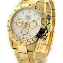 Rolex Used 16528_used_white_stick Yellow Gold DAYTONA on...