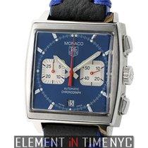 TAG Heuer Monaco Steve McQueen Chronograph Blue Dial 38mm