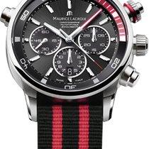 Maurice Lacroix Pontos S Chronograph, Red Details, Textile...