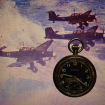 Moeris WW2 British Armee Military Pilot Aviators Pocket Watch...